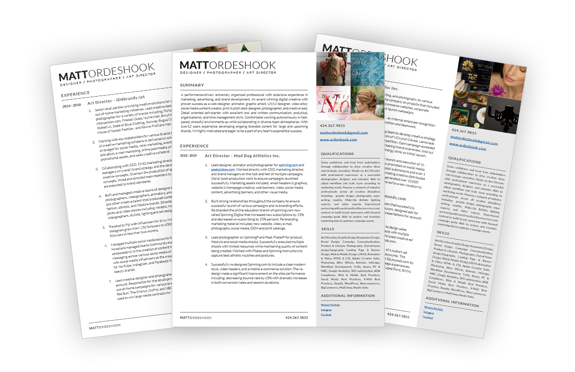 Download Matts Resume